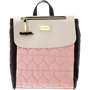 Betsey Johnson Be Mine Quilted BackPack